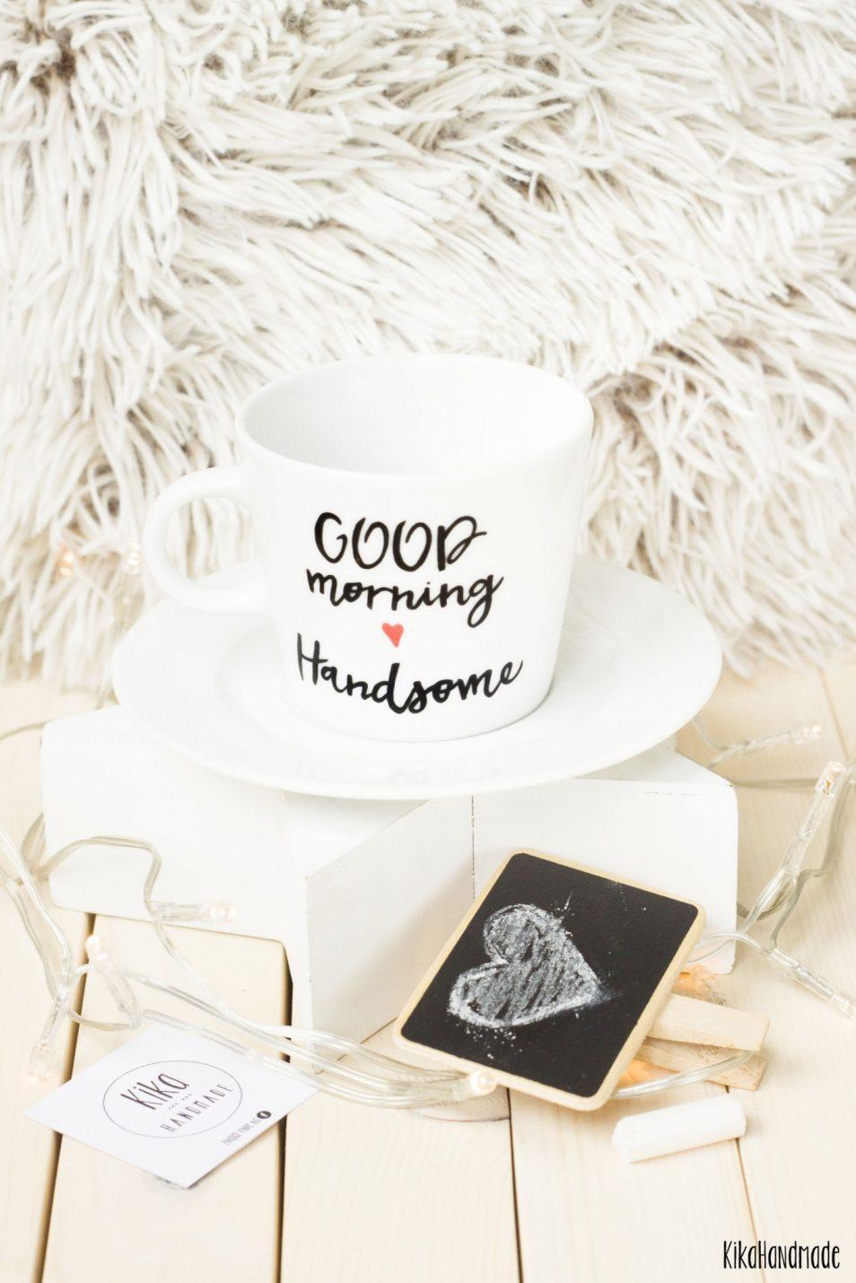 Filiżanka  Good Morning Handsome