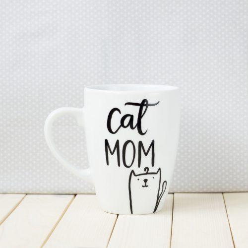Kubek Cat Mom