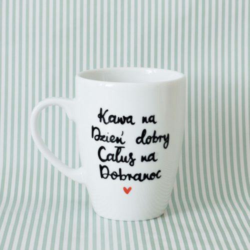 Kubek Kawa na dzień dobry