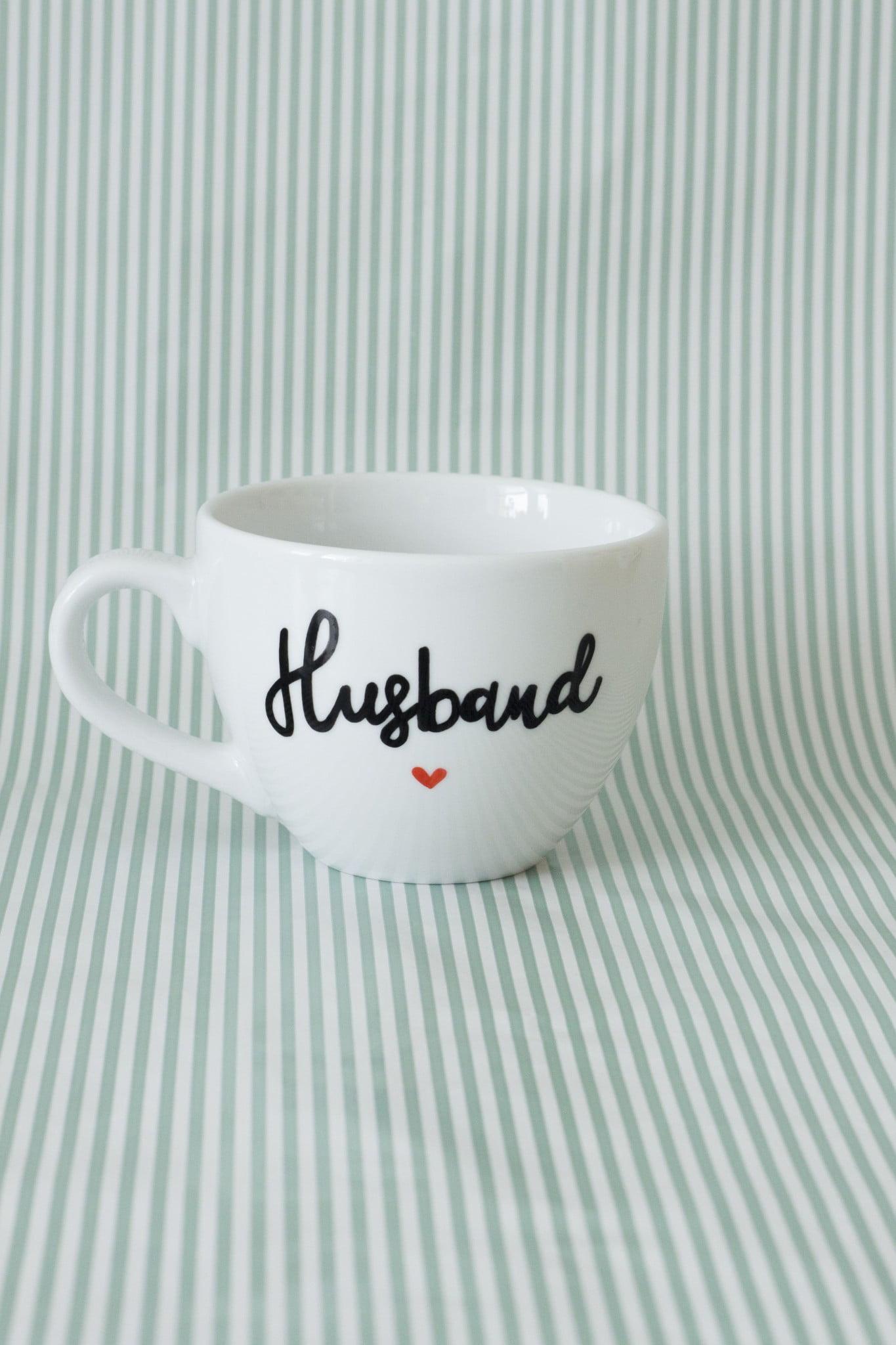 Kubek ręcznie malowany Husband