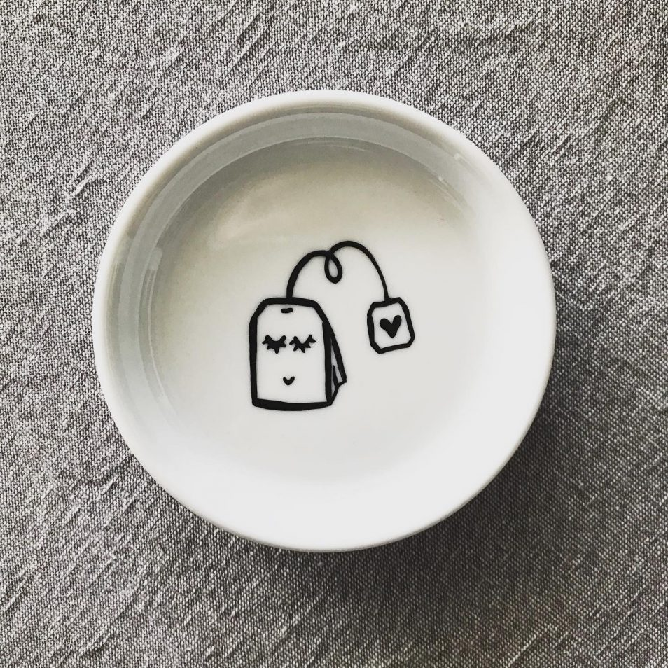 Spodek na torebkę herbaty Teabag