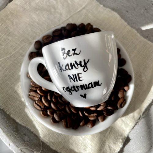 Filiżanka espresso Bez kawy nie ogarniam